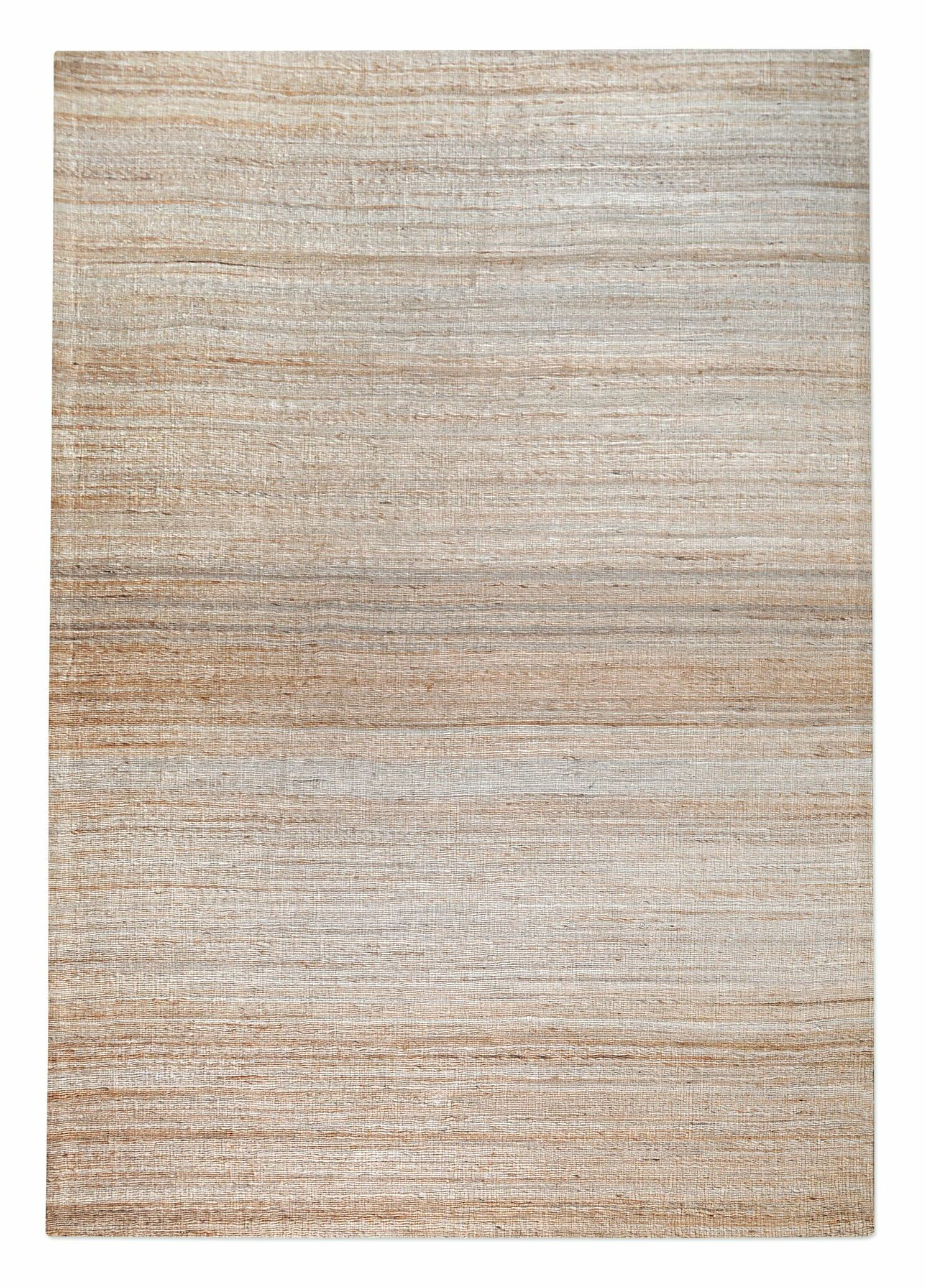 Shafter Hand-Woven Ecru Area Rug Rug Size: 5' x 8'