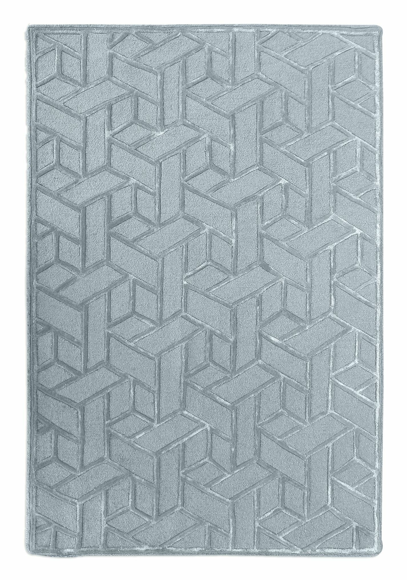 Netherton Hand Tufted Stone Gray Area Rug Rug Size: Rectangle 9' x 12'