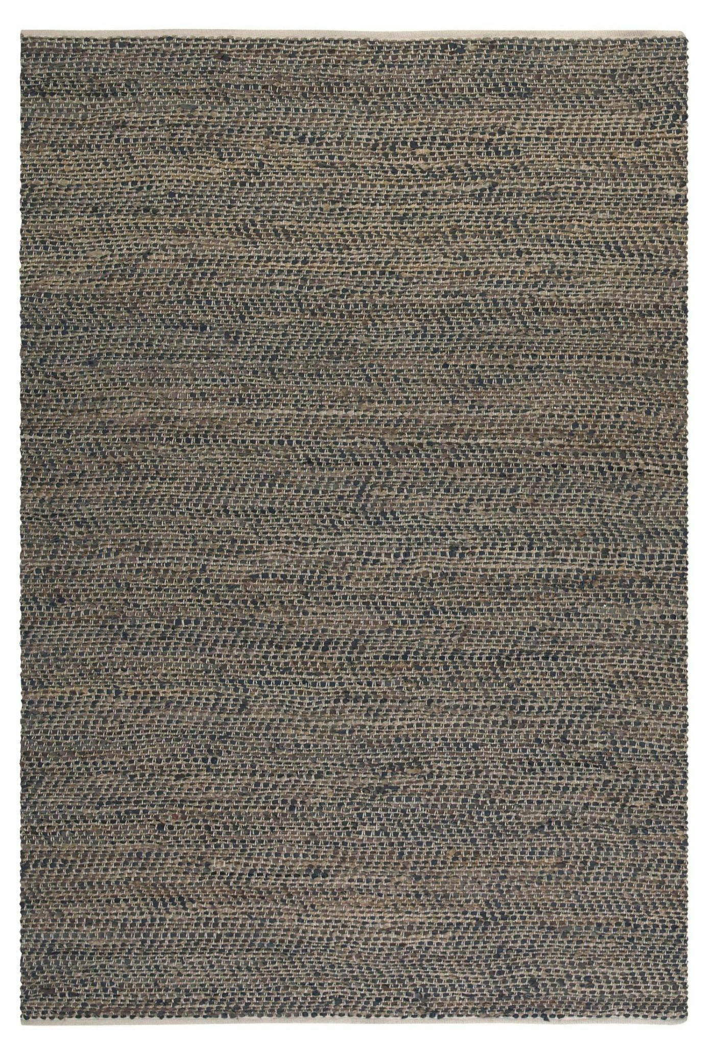 Neidig Hand Woven Leather Rug Rug Size: 9' x 12'