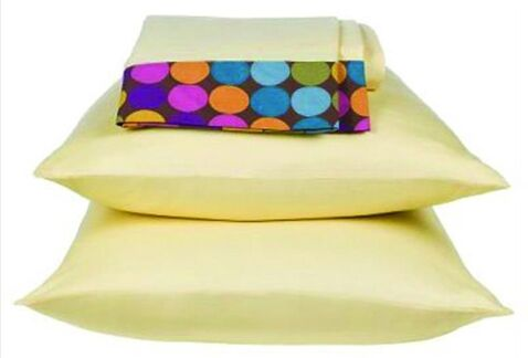 Dots and Stripes 200 Thread Count Spice Sheet Set Size: Full