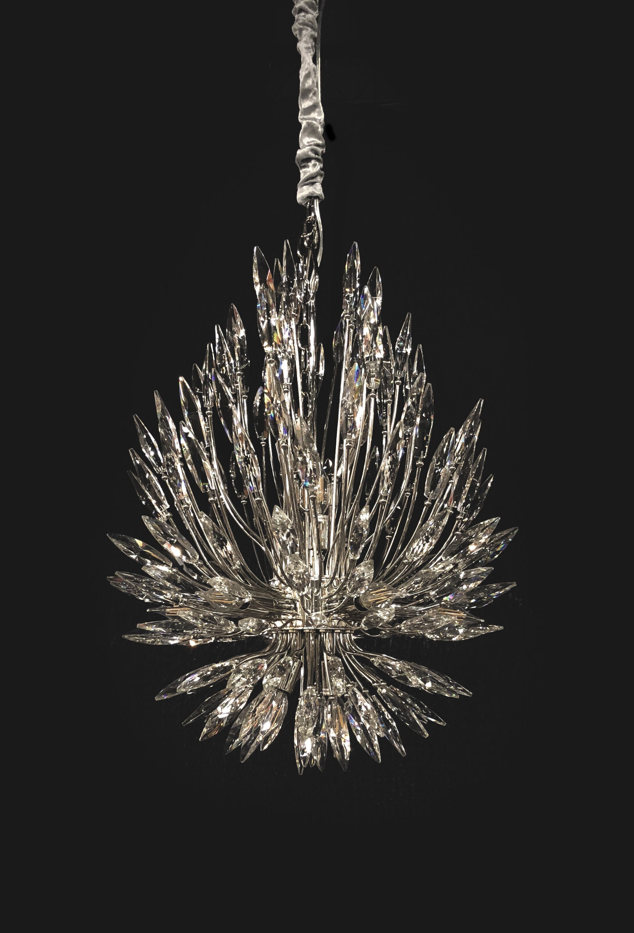 Robbins 22-Light Crystal Chandelier