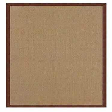 Athena Cork/Brown Area Rug Rug Size: Rectangle 5' x 8'