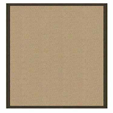 Athena Hand-Tufted Sisal/Dark Green Area Rug Rug Size: Rectangle 5' x 8'