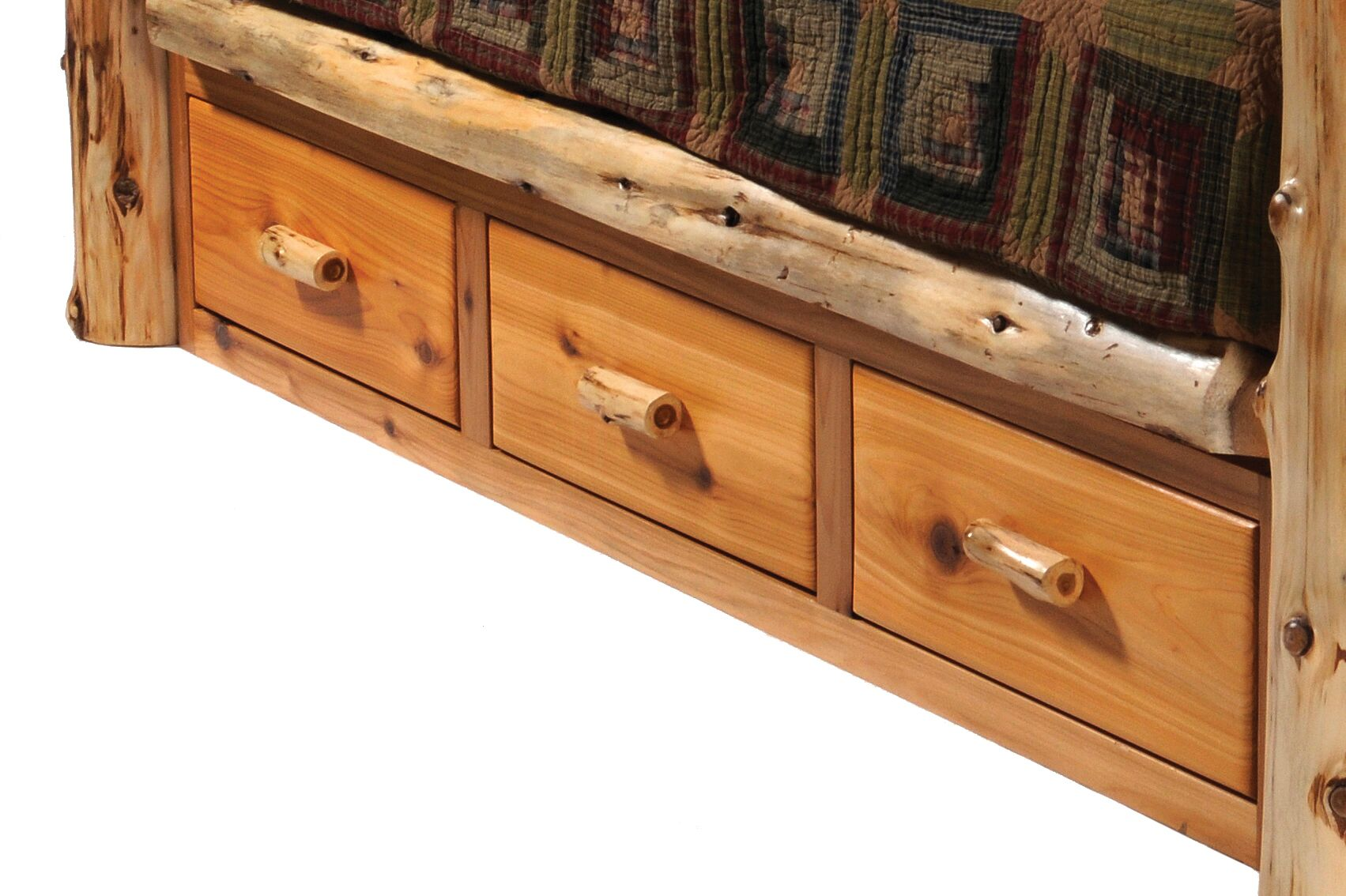 Cedar Storage Drawers Color: Traditional
