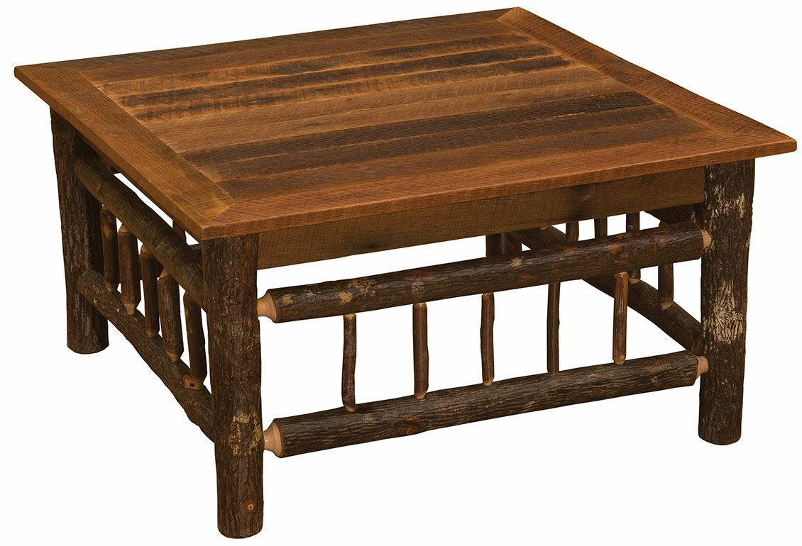 Hickory Coffee Table Size: 18