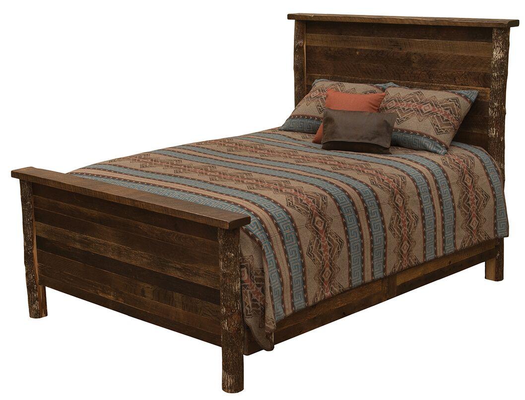 Crockett Panel Bed Size: King