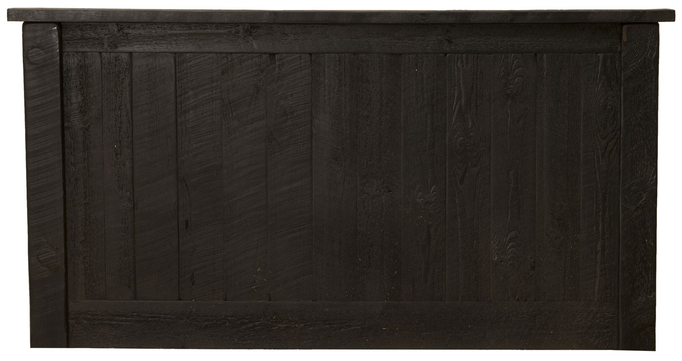 Frontier Panel Headboard Size: King, Color: Midnight