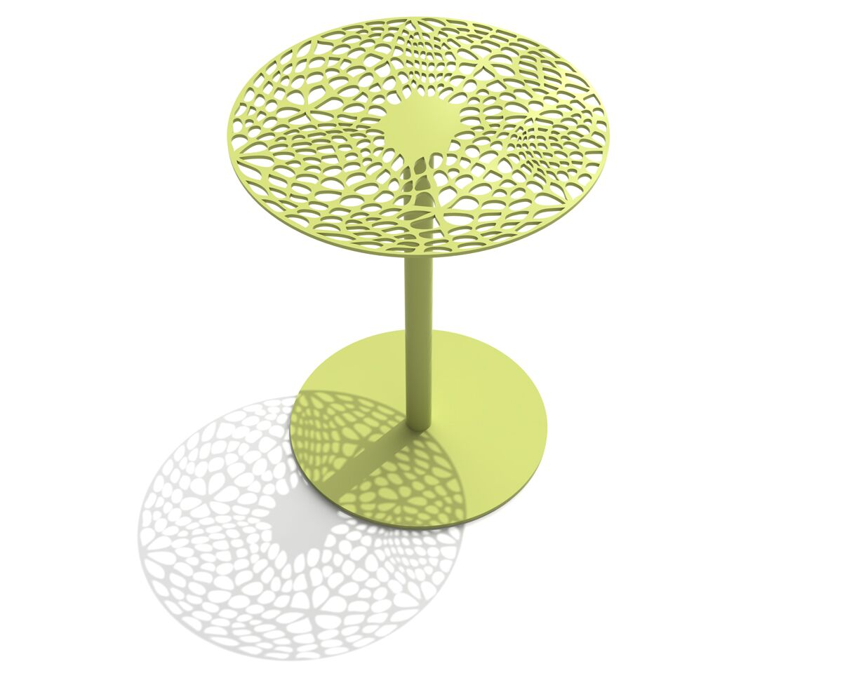 Coral Cafe Table Size: 29.5