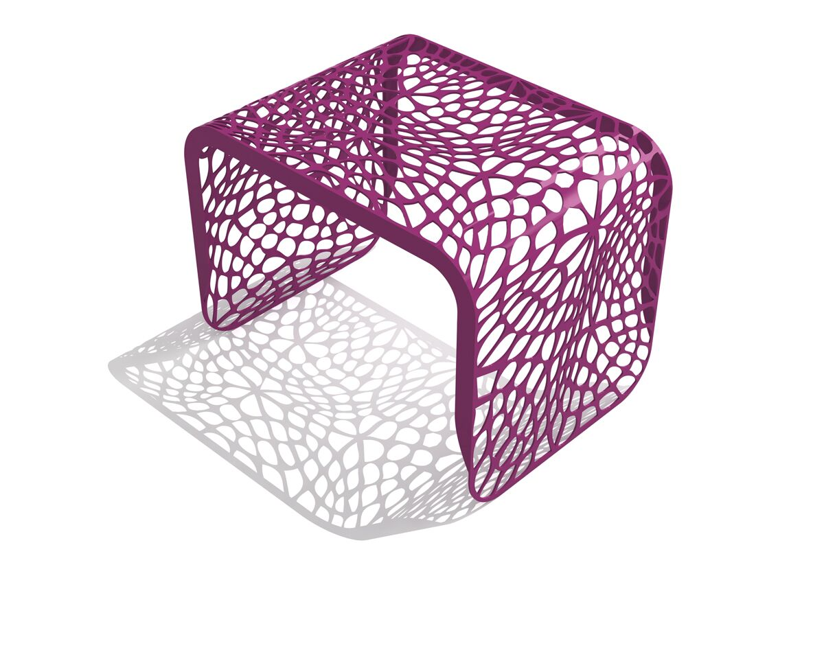 Coral End Table Color: Wild Orchid