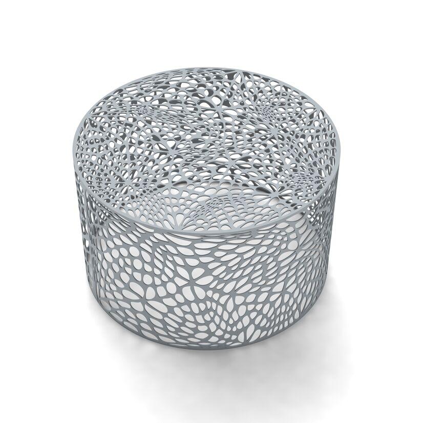 Coral Coffee Table Color: Glacier Gray