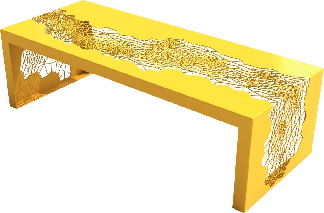 Hive Coffee Table Color: Bright Sun