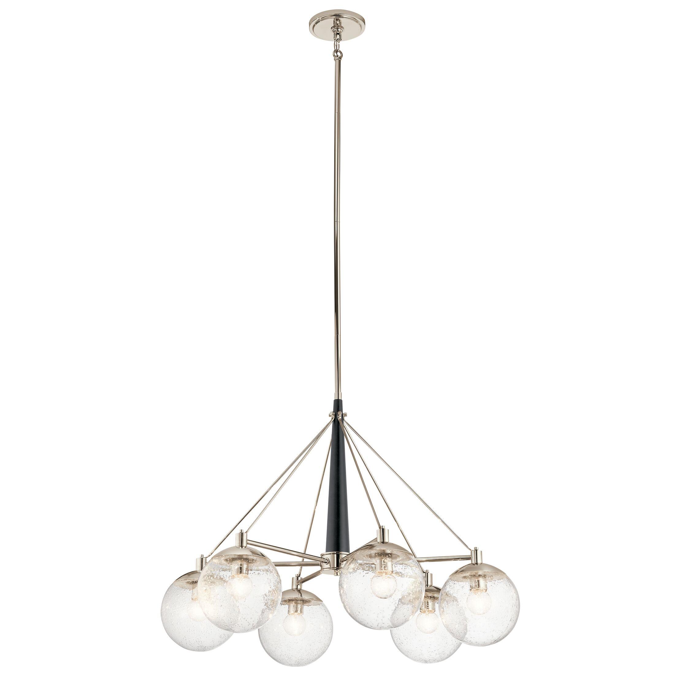 Ironwood 6-Light Shaded Chandelier