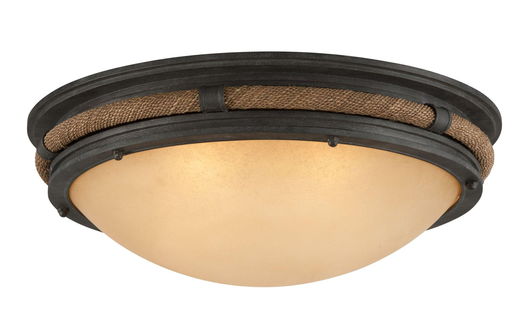 Holly 4-Light Flush Mount Bulb Type: Incandescent