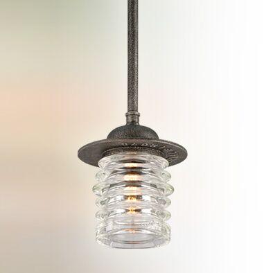 Laquisha 1-Light Bell Pendant Size: Large