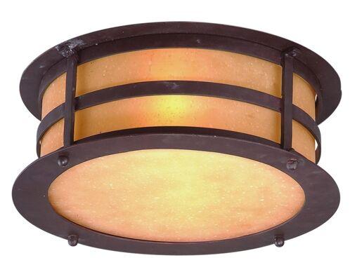 Theodore 2-Light Flush Mount Bulb Type: Fluorescent