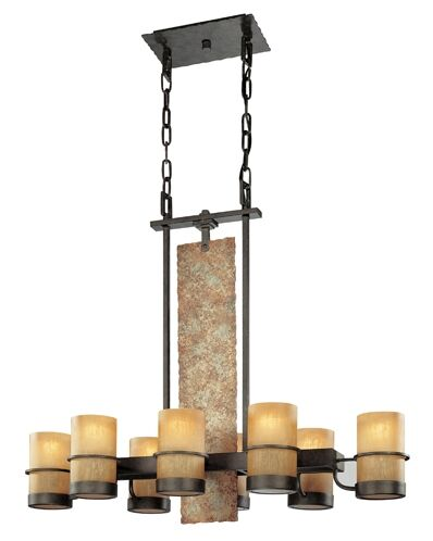 Patton 8-Light Shaded Chandelier