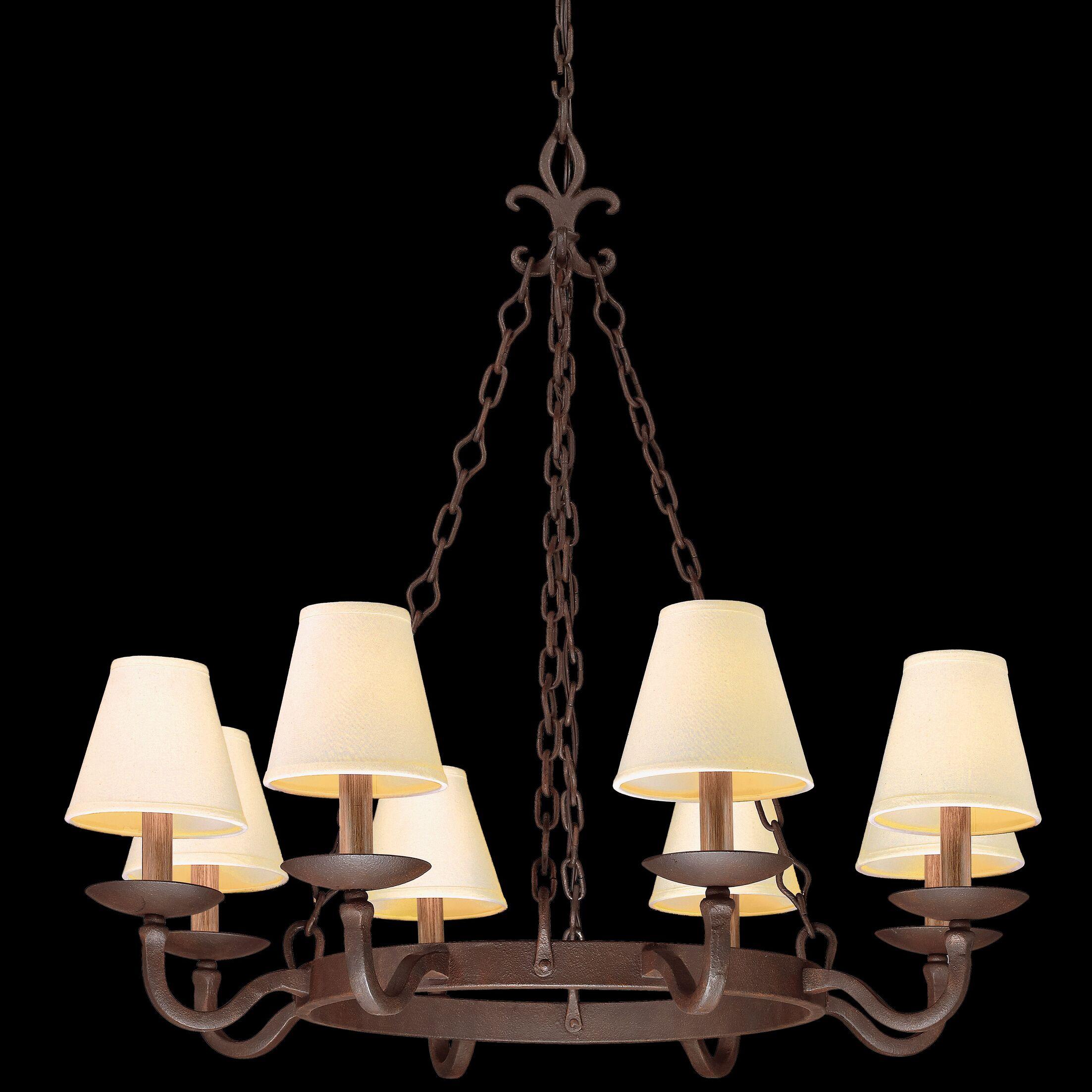 Coleg 8-Light Shaded Chandelier