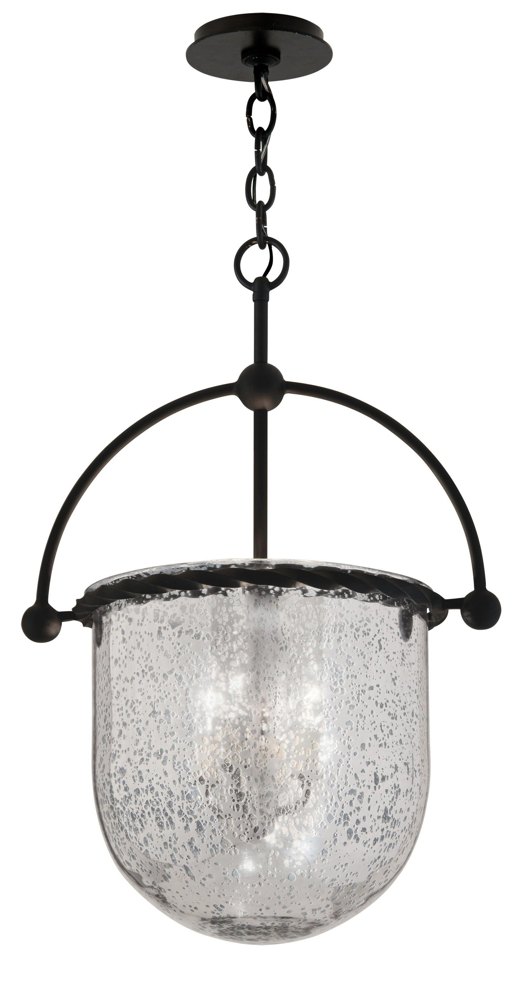 Pinnock 3-Light Urn Pendant Size: 25