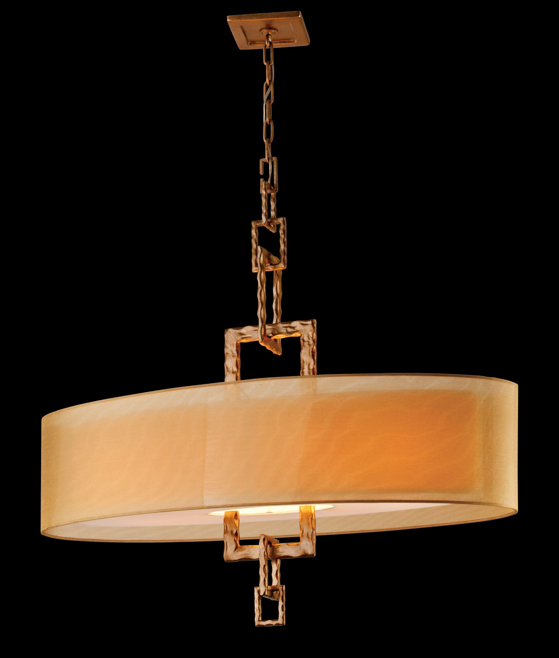 Karissa 4-Light Kitchen Island Pendant Bulb Type: 60W Medium Base Incandescent Bulb