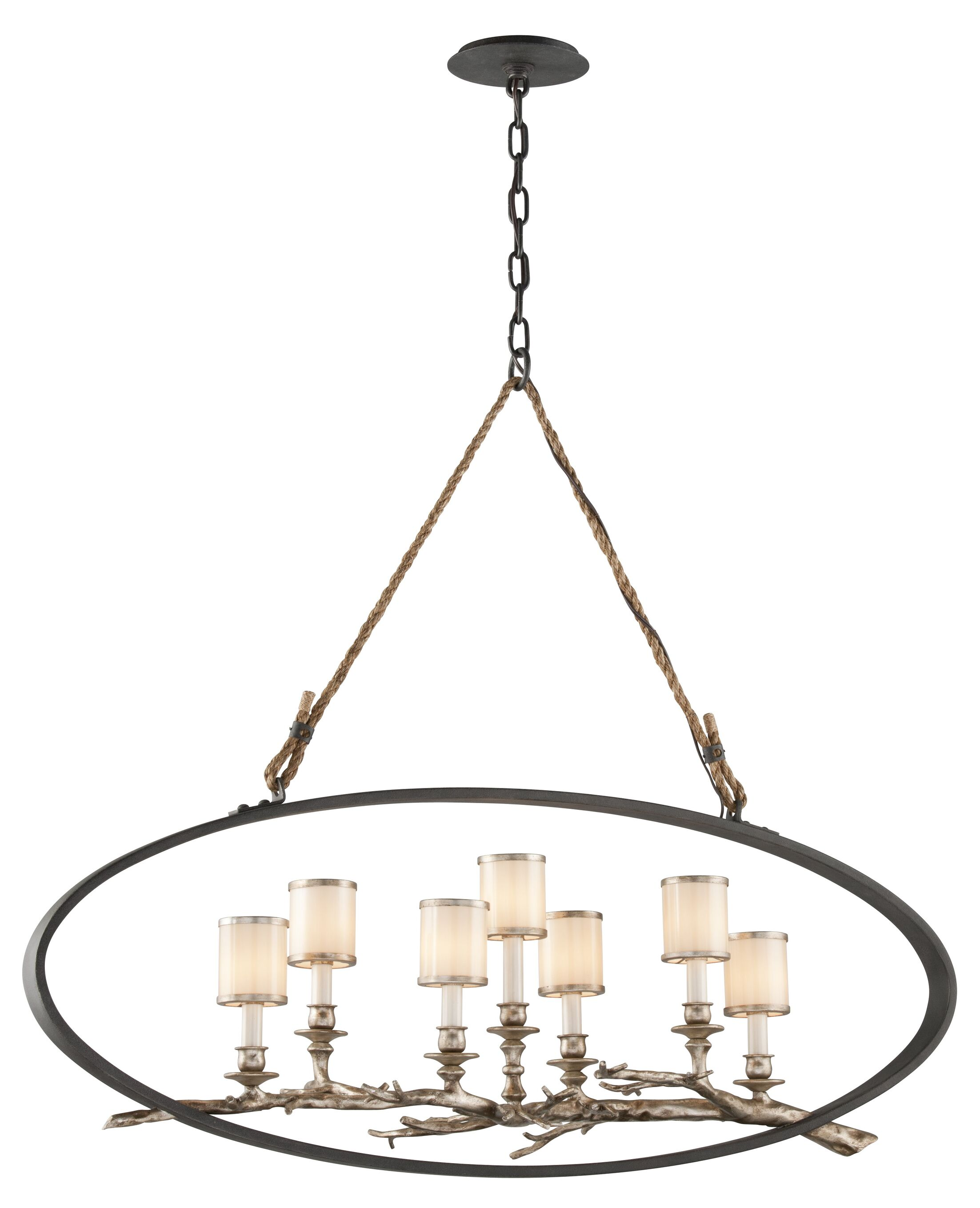 Oxford 7-Light Shaded Chandelier