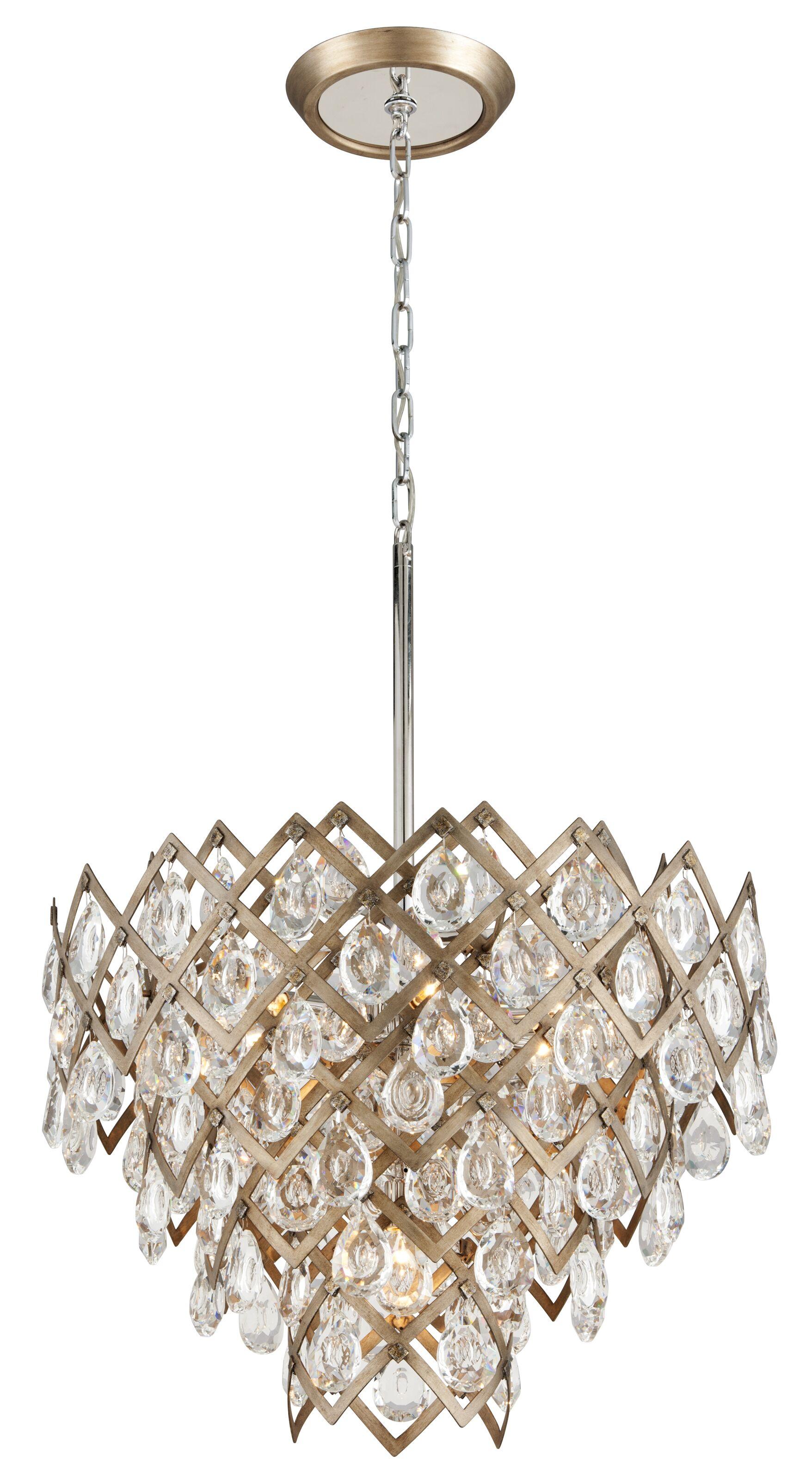 Tiara 7-Light Crystal Chandelier
