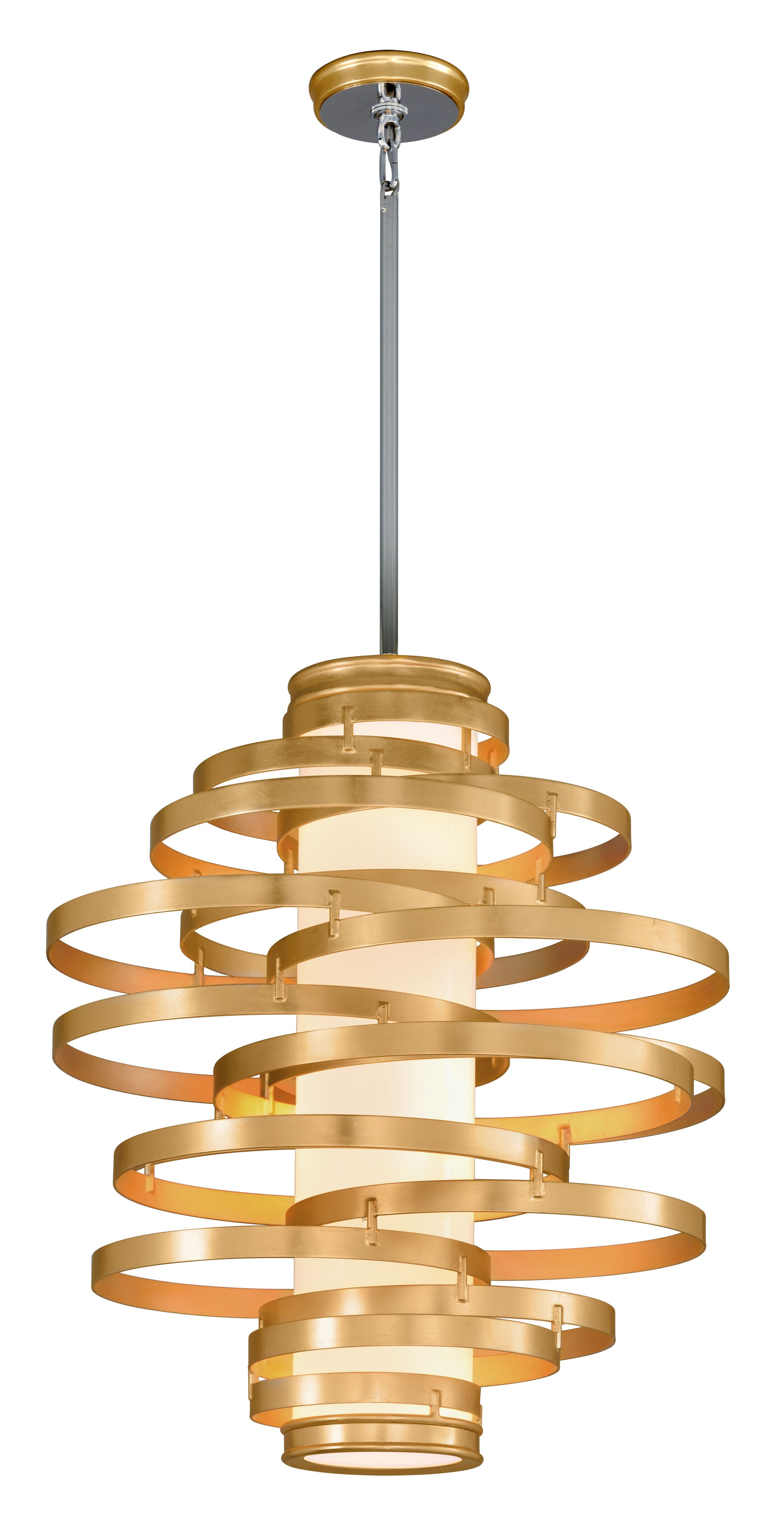 Vertigo 4-Light Geometric Chandelier