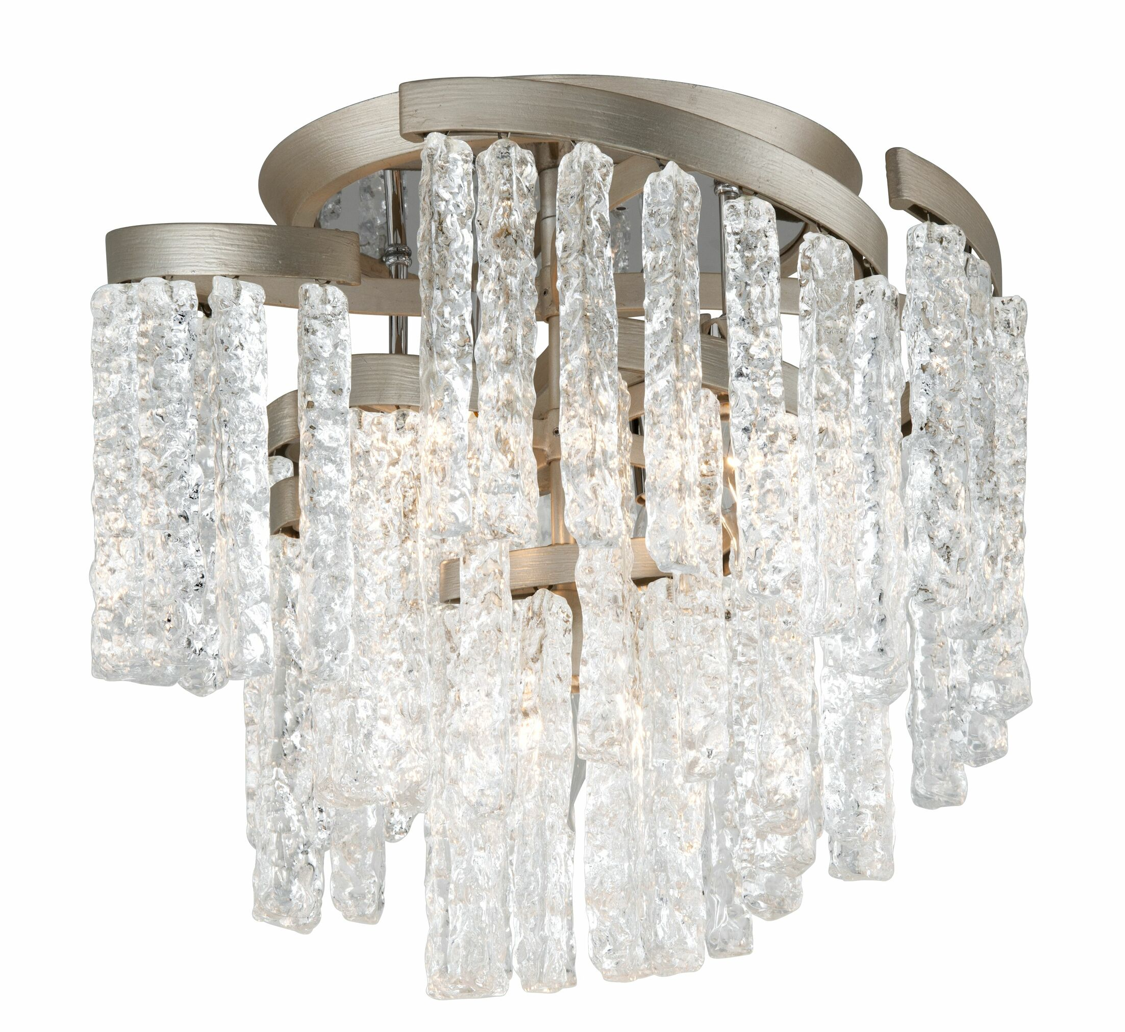 Mont Blanc 5-Light Semi Flush Mount