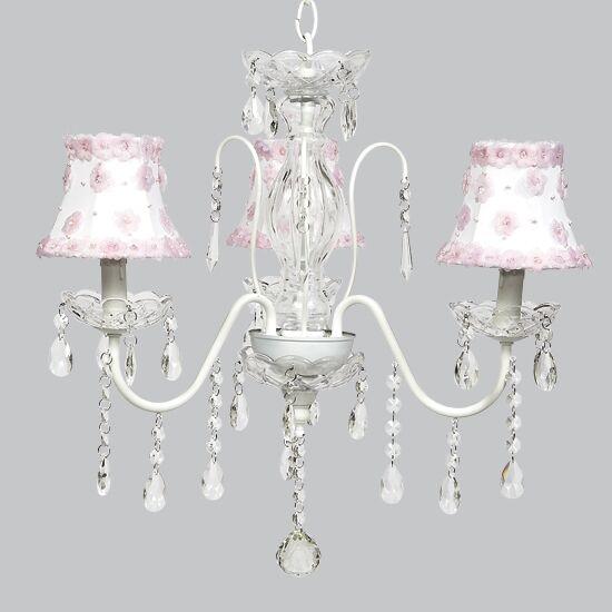 Jewel 3-Light Shaded Chandelier