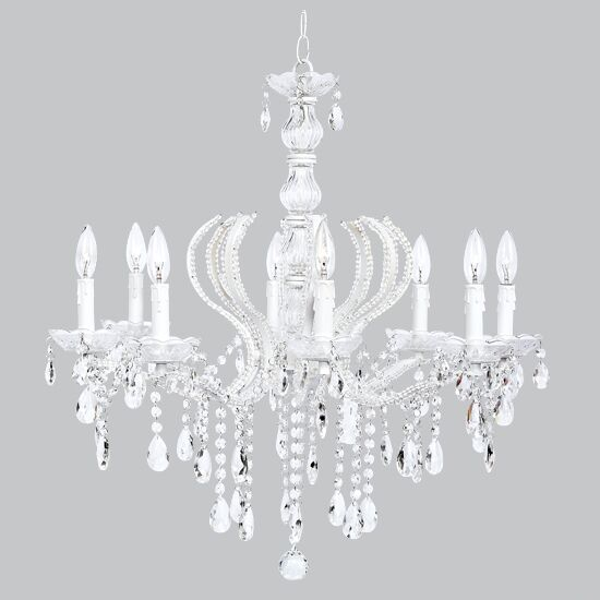 Pageant 8-Light Candle Style Chandelier