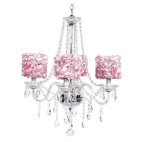 Middleton 4-Light Shaded Chandelier Shade Color: Pink