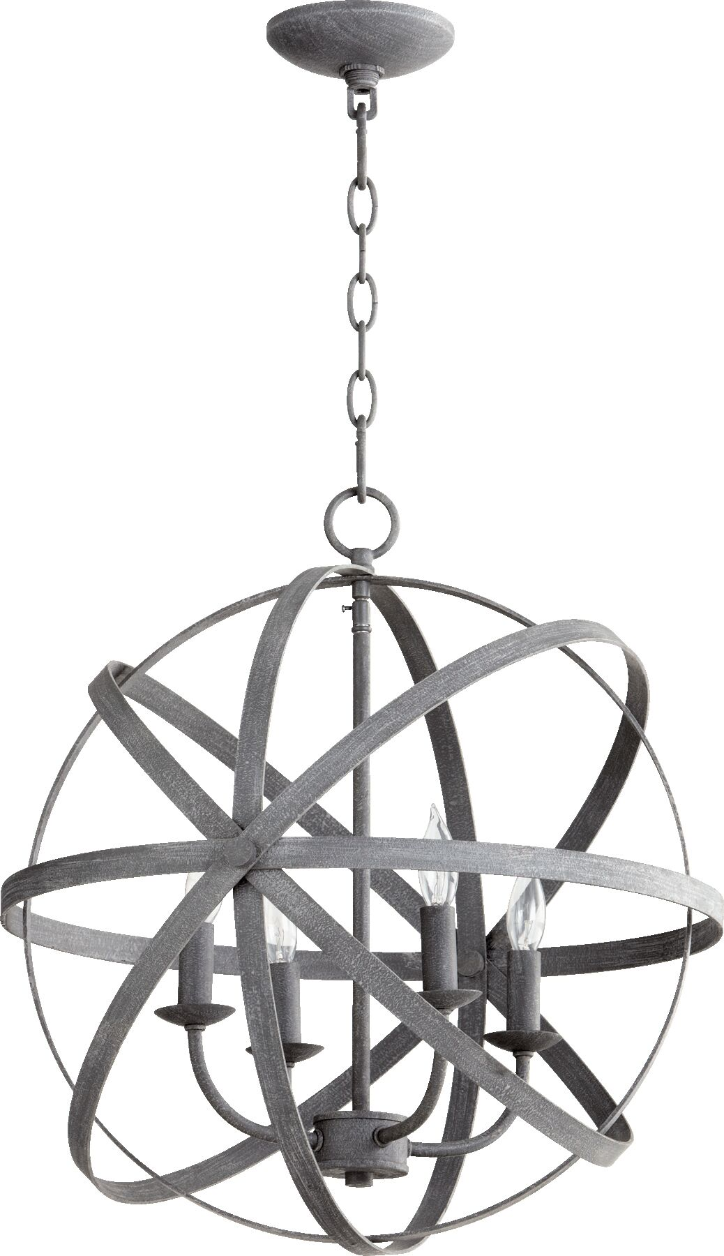 Celeste 4-Light Pendant Finish: Zinc