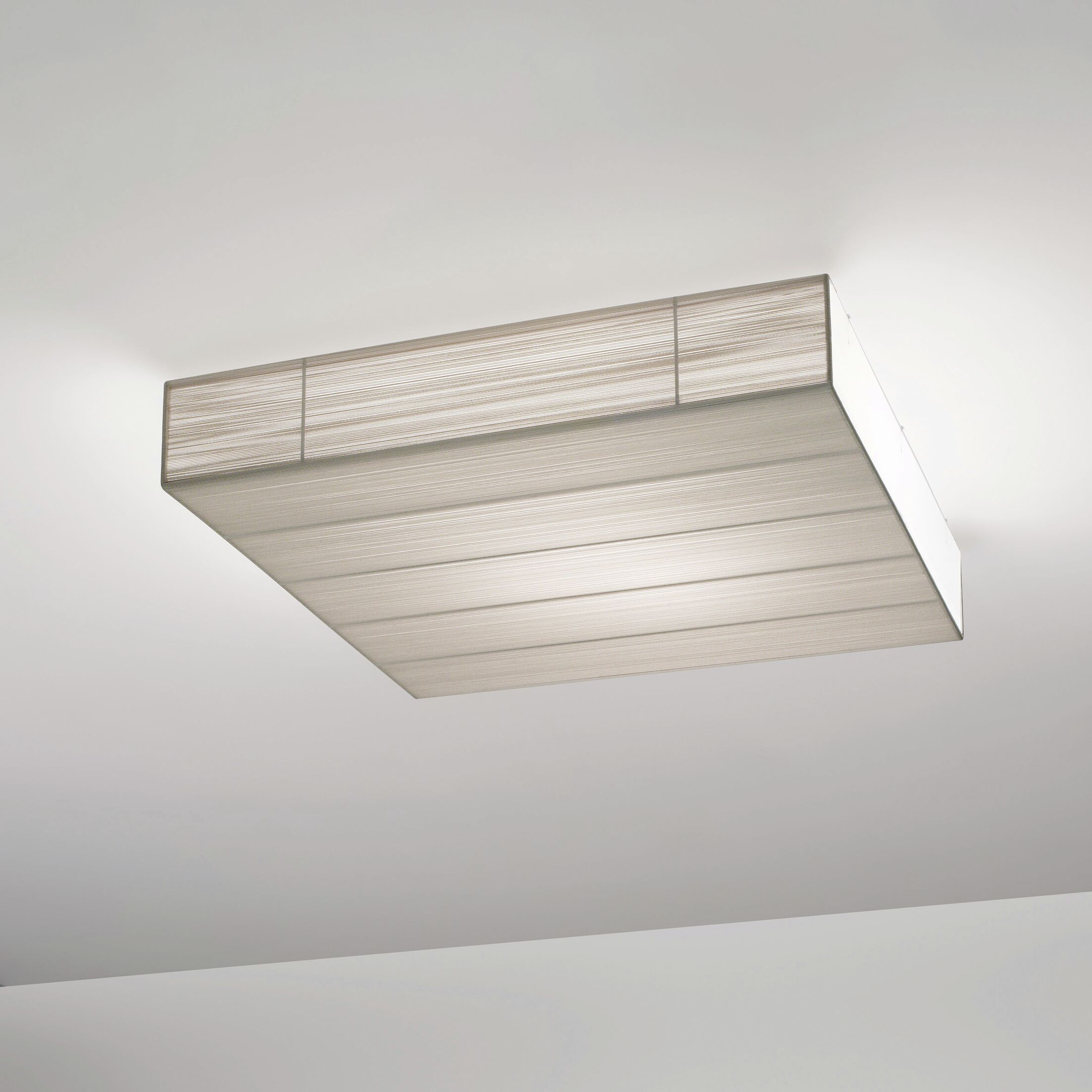 Clavius 90 Ceiling Light Flush Mount Bulb Type: Fluorescent, Shade Color: Sand