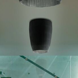 Bell 1-Light Flush Mount Size: 16.13