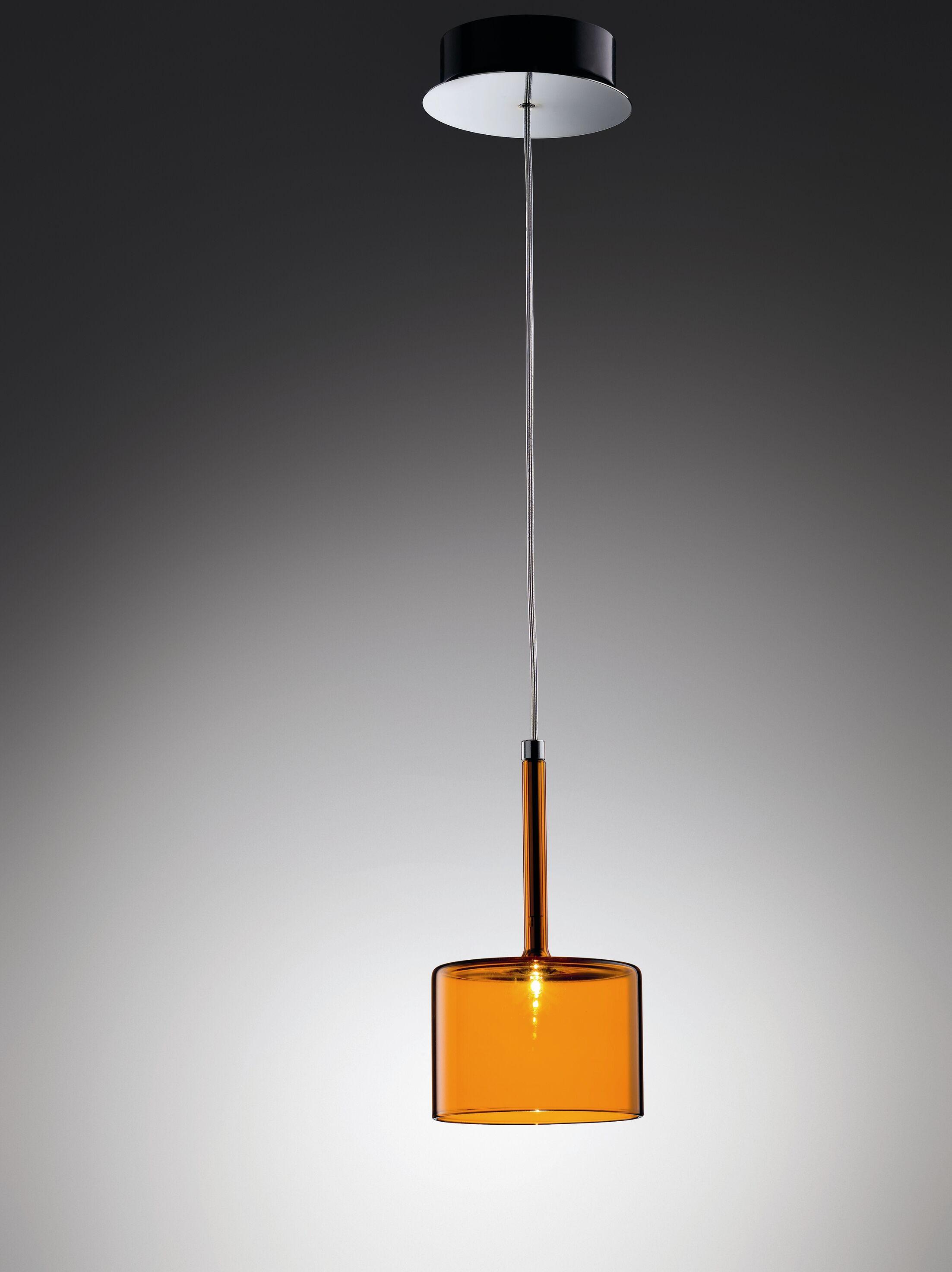 Spillray 1-Light Drum Pendant Width / Glass Color: 3.125