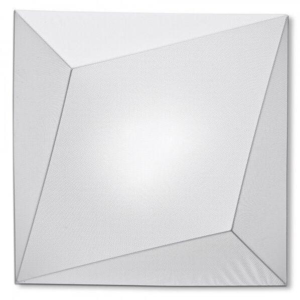 Ukiyo 1-Light Flush Mount Color: White / White, Bulb Type: (1) 2Gx13 x Max 55W