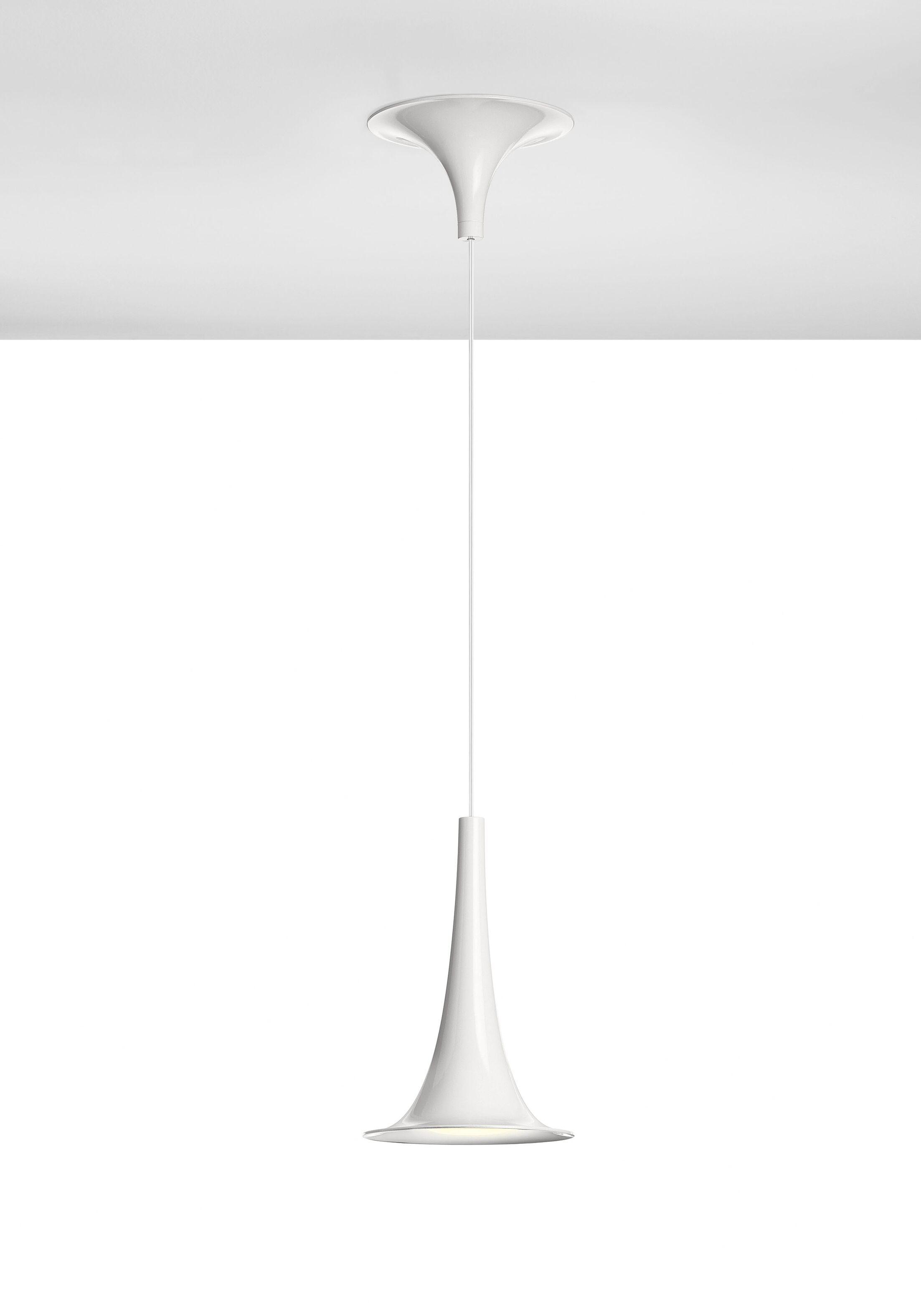 Nafir 1-Light Cone Pendant Color: Outside White / Inside White