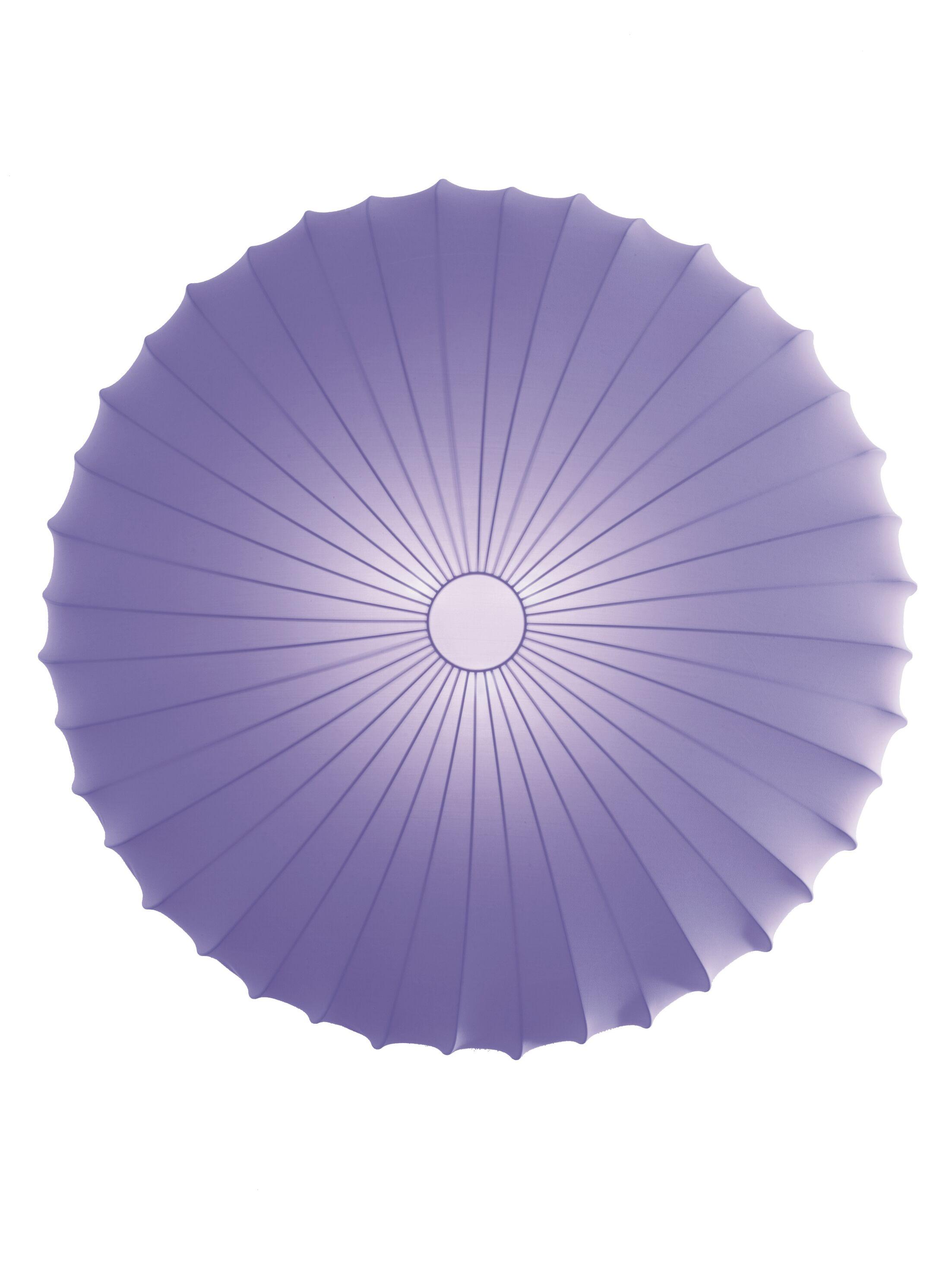 Muse 3-Light Flush Mount Size: Extra Large, Color: Violet, Bulb Type: Fluorescent/Incandescent