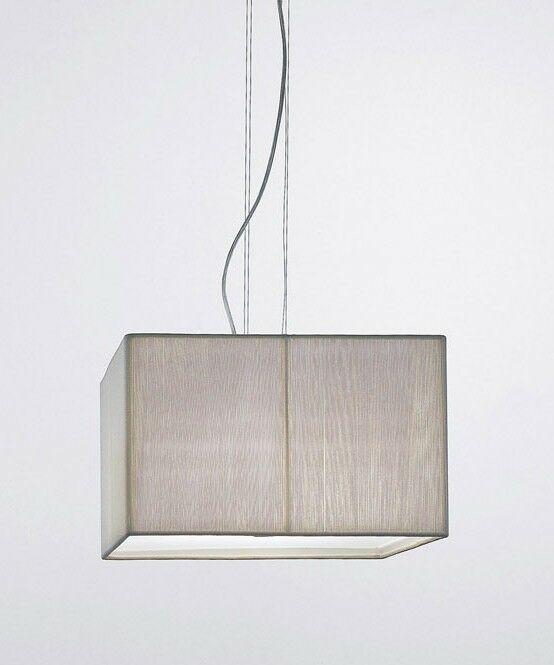 Clavius 4-Light Square/Rectangle Pendant Color: White, Size: Small
