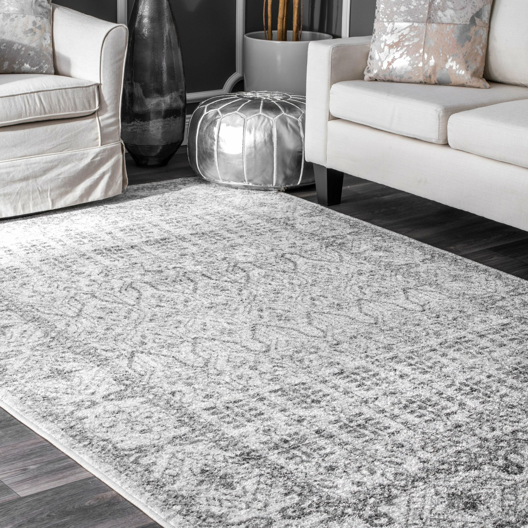 Katondra Gray Area Rug Rug Size: Rectangle 5' x 8'