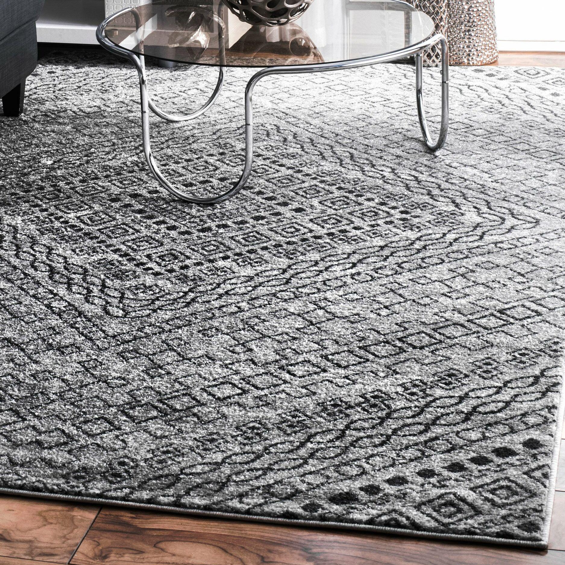 Sacramento Dark Gray Area Rug Rug Size: Rectangle 5' x 8'