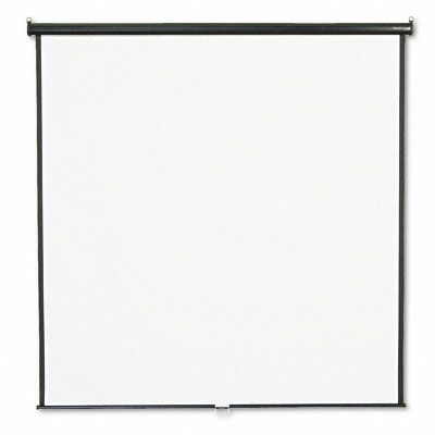 Matte White Manual Projection Screen Viewing Area: 84