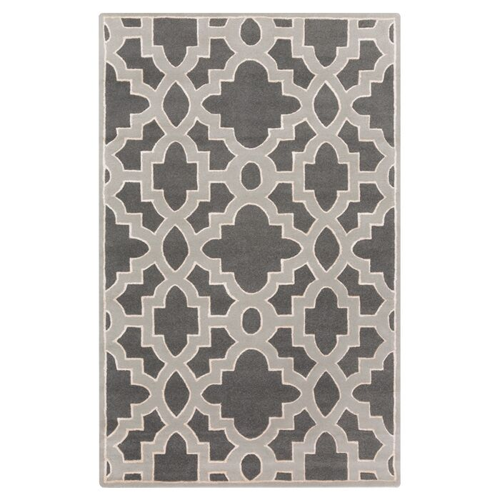 Modern Classics Iron Ore Area Rug Rug Size: Rectangle 9' x 13'