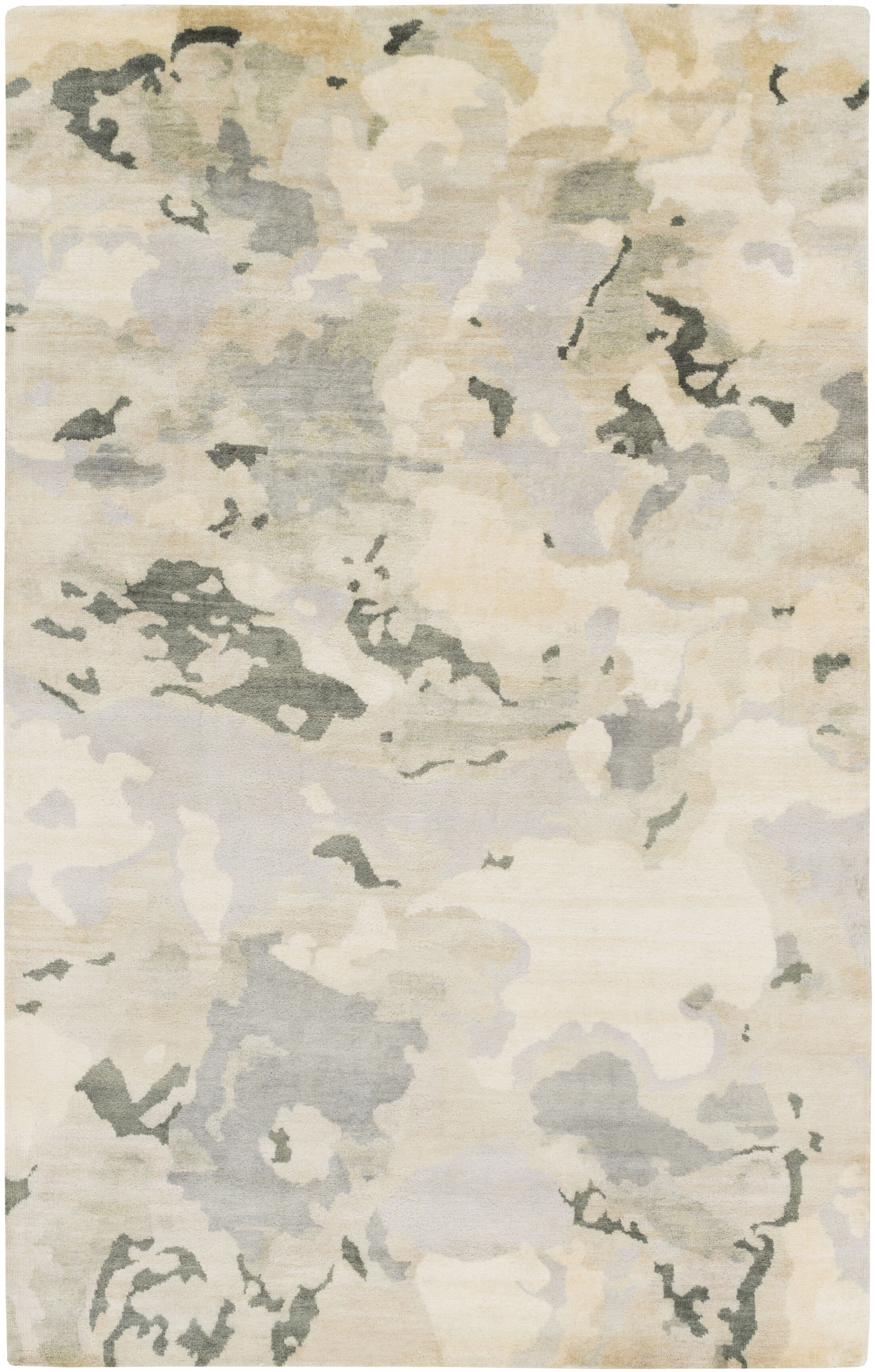 Slice of Nature Beige Area Rug Rug Size: Rectangle 5' x 8'