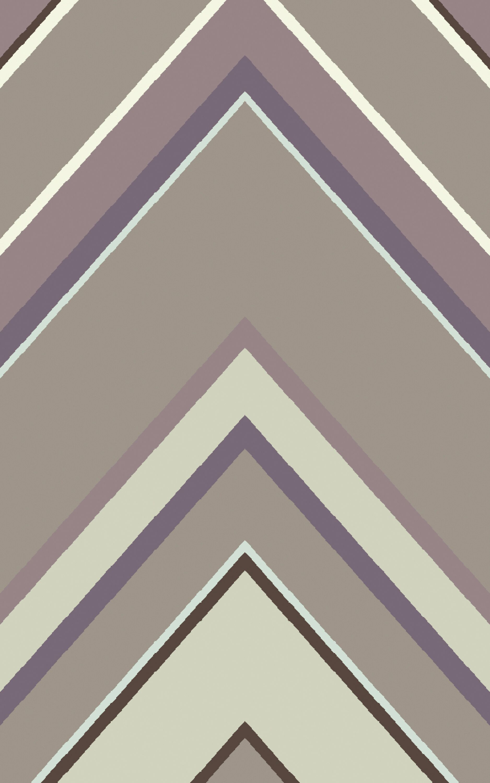 Modern Classics Mauve/Multi Geometric Area Rug Rug Size: Rectangle 5' x 8'