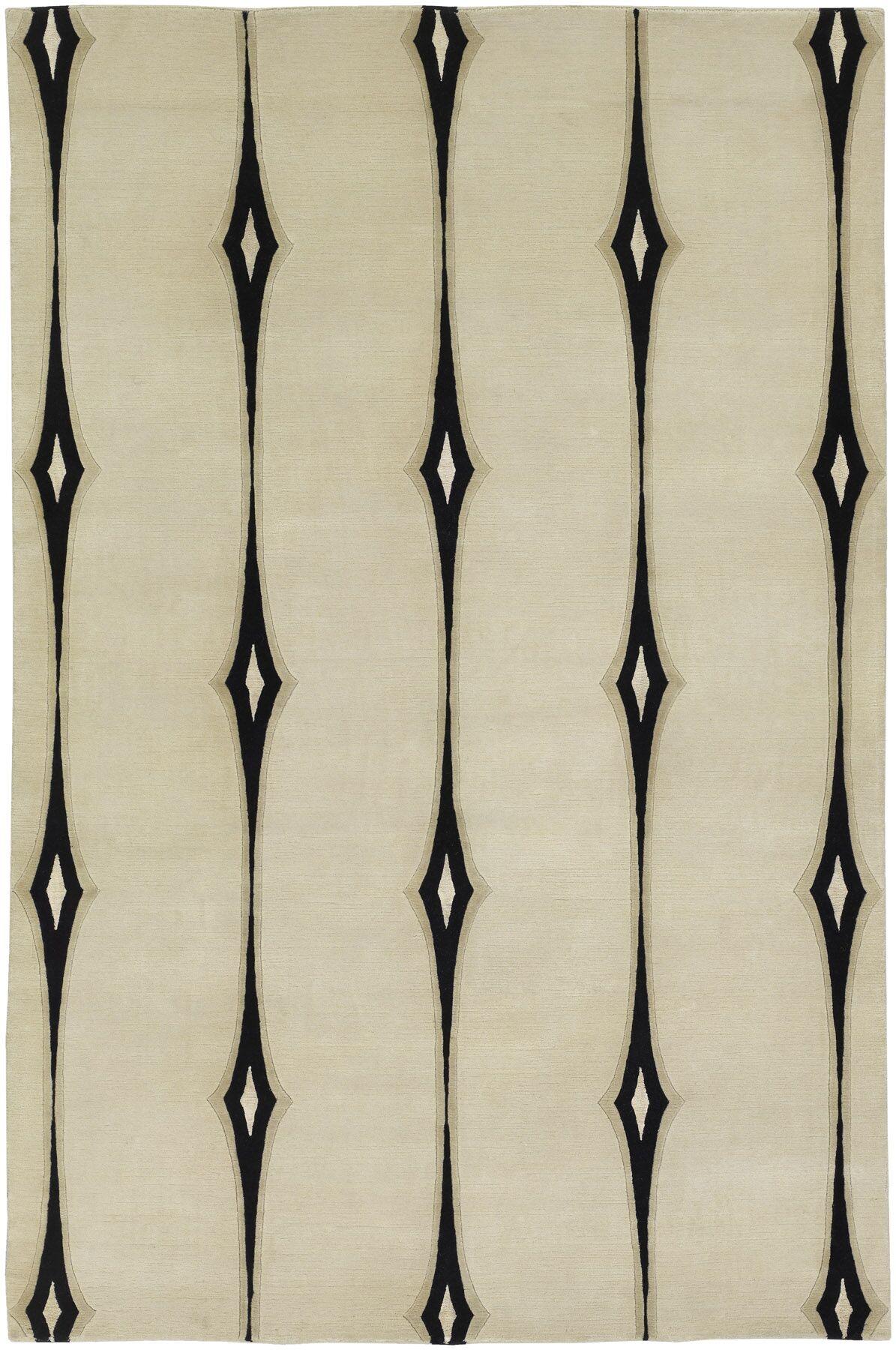 Luminous Ivory Area Rug Rug Size: Rectangle 2' x 3'
