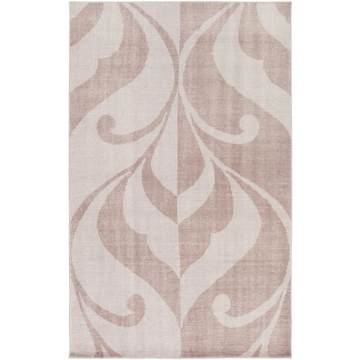Paradox Hand-Knotted Purple Area Rug Rug Size: Rectangle 8' x 10'