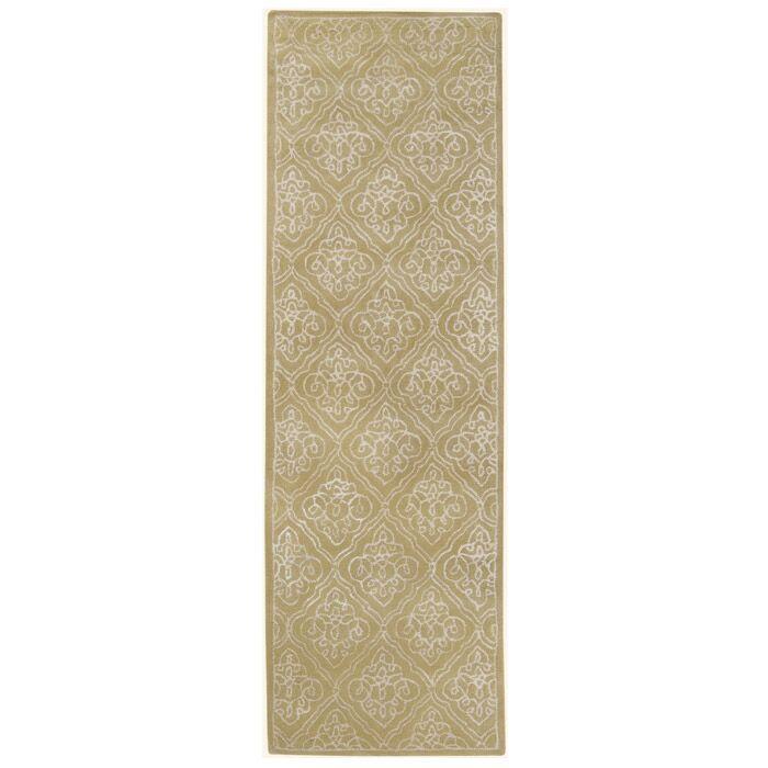 Modern Classics Pale Green Rug Rug Size: Runner 2'6