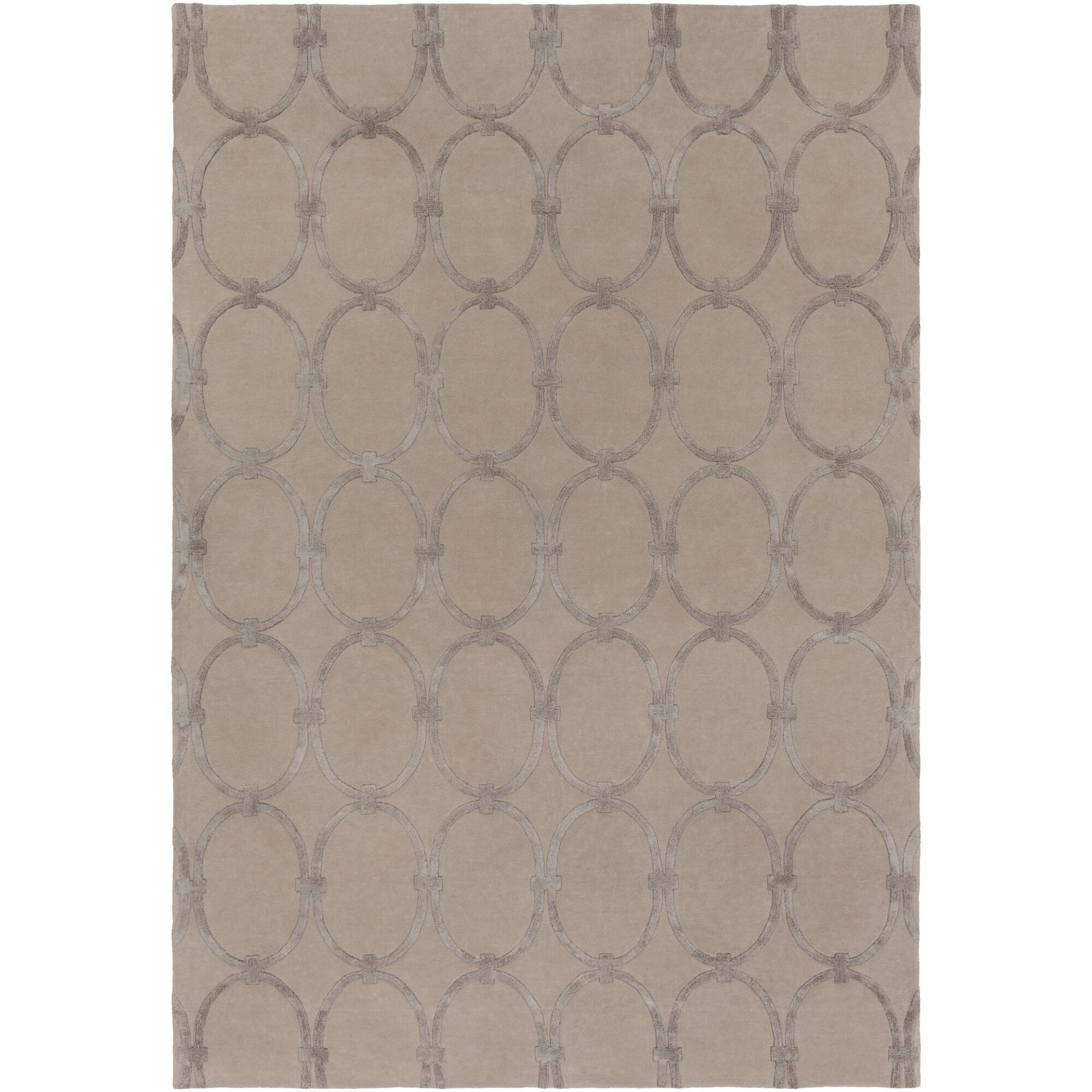 Modern Classics Taupe Rug Rug Size: Rectangle 9' x 13'