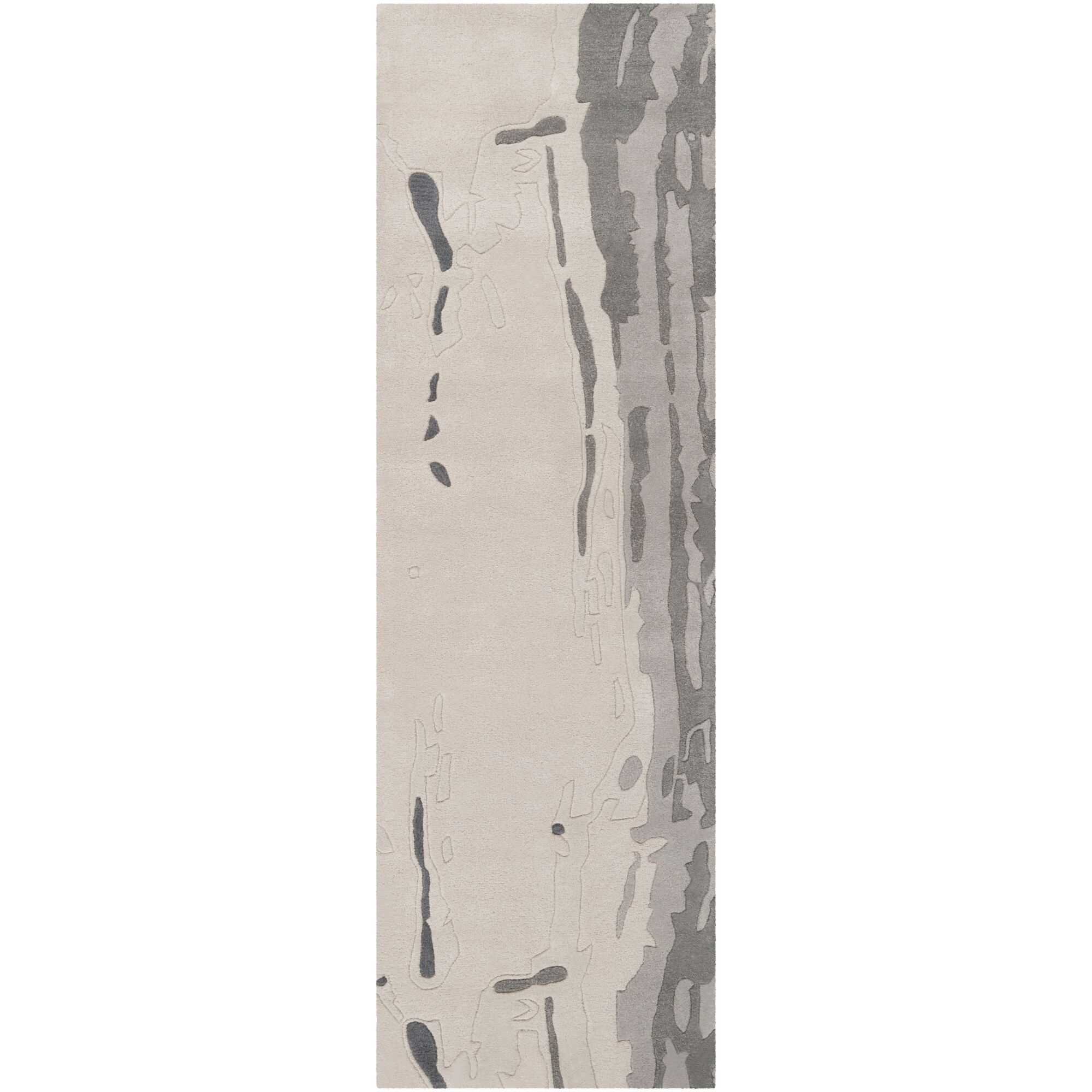 Modern Classics Parchment Area Rug Rug Size: Runner 2'6