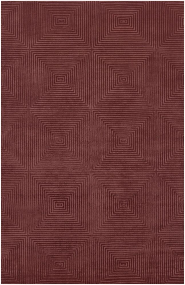 Luminous Raspberry Area Rug Rug Size: Rectangle 8' x 11'